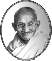 Top CRM Quote by Mahatma Gandhi