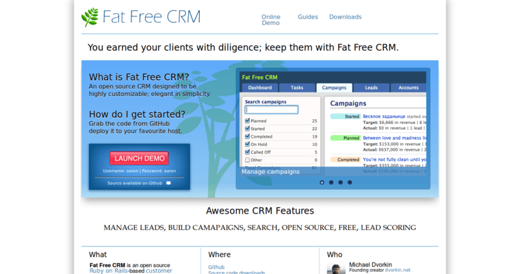 Fat Free CRM | Best CRM Software | 10 Best CRM