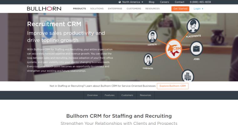 bullhorn leading cloud crm software 10 best crm