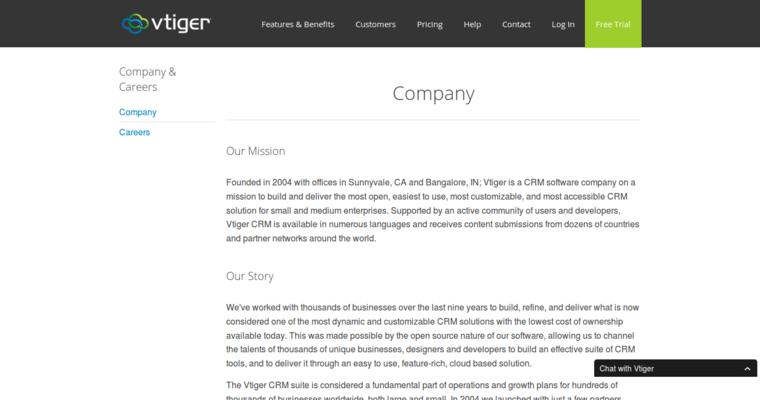 Vtiger | Top Open Source CRM Software | 10 Best CRM