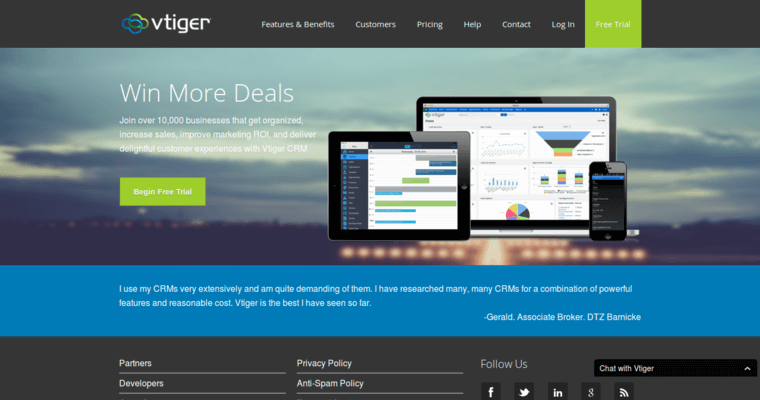 Vtiger | Top Open Source CRM Software | 10 Best CRM