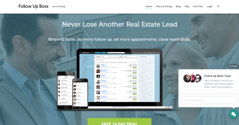 Real Estate Follow Up : Follow up boss top real estate crm software best