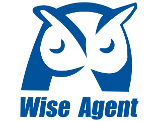Top Real Estate CRM Software Logo: Wise Agent